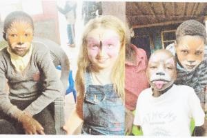 Annabelle Reeves Visits African Orphanage