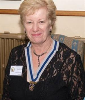 Rotarian Anne Hardy is a guest on the Radio 2 Art Show