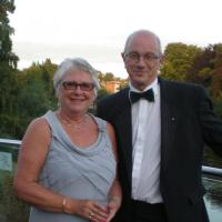 Alan and Anne Hudson - Summer Ball