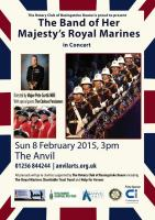 THE BAND OF HER MAJESTY�s ROYAL MARINES COMES TO BASINGSTOKE