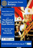 The Band of the HM Royal Marines in Concert at the Anvil