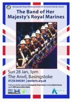 ROYAL MARINES BAND IN CONCERT AT THE ANVIL.