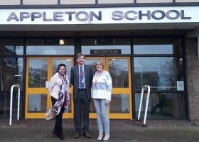 Mock Interviews at Appleton School