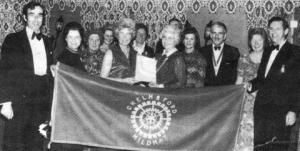Mildmay Inner Wheel Charter Presentation on 08 November 1973
