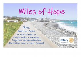 Miles of Hope campaign page
