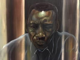 Mayor of Bath's Art Show: Fading Memories by Joshua Donkor