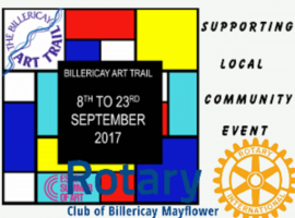 Supporting Local Community Event- Billericay Art Trail