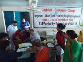 IMPACT's latest report from the Clubfoot Surgery Camp
