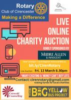 GOING, GOING, GONE! CIRENCESTER'S MEGA CHARITY AUCTION