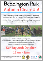 Beddington Park Autumn Cleanup