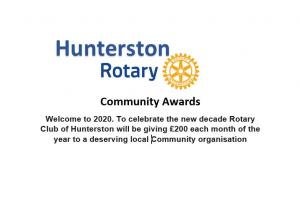 Hunterston Community Awards
