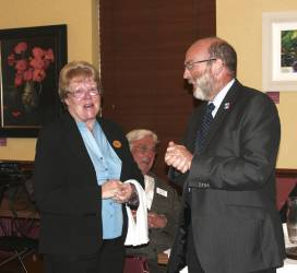 Rotary's farewell to Betty