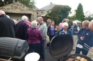 Back to school barbecue in aid of Mary's Meals