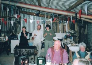 BBQ at the home of David and Pip Hassall (2004)