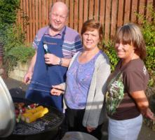 Childline and aquaboxes benefit from barbecue
