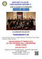 Berties Big Band Concert - 8 March 2014