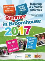 We support The BIG Project in Broomhouse!