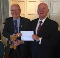 Rotarian David Fell & Brian Taffs