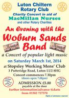 WOBURN SANDS BAND CONCERT