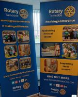 New Banners for Tameside Rotary