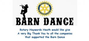 Barn Dance - A Big Thank You