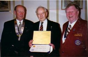 The life of a Rotarian: PP Bartle Hodgkinson PHF.