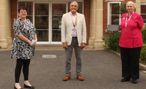 Tablet donated to Bassett House Care Home