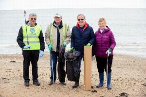 Beach Clean in Cleethorpes