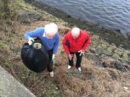 Harbourside Clean-up March 2019