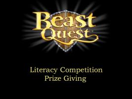 Beast Quest Literary Competition Prize Giving 3pm Oswestry Library