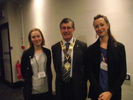 Scholars host by Bedford Rotary Club