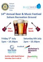 2019 Beer & Music Festival - July Friday 5th & Saturday 6th