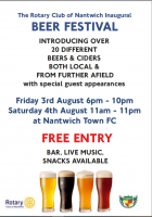 Nantwich Rotary Beer Festival August 2018