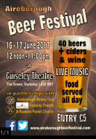 Inaugural Aireborough Beer festival