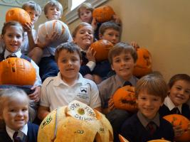 Interact Raise Funds for Footfall and Decorate the Sixth Form Halloween Social