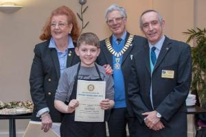 Bury Young Chef wins District Competition