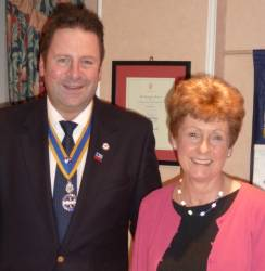 Ryde Rotary Club new member