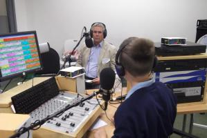 Visit to Bexhill FM - 12th July
