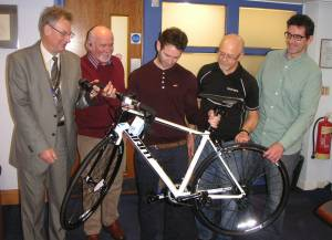 Tour de Furness 2014 - winner of Bike Competition