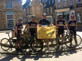 Rotarian Rides in support of Prostrate Cancer Charity