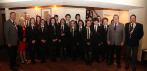 Billericay School Interact Club Charter Lunch