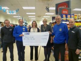 Co-op donates to Barton-le-Clay Rotary Club charity fund