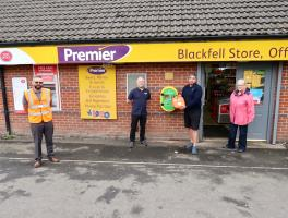 Community Defibrillators for Blackfell and Donwell