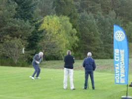 Teams playing in the 2017 Rotary Club Golf Day held on Blairgowrie's fabulous Rosemount Golf Course.