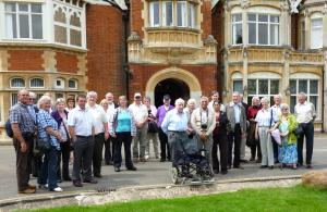 March Rotary Club Visit Bletchley Park.