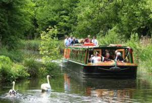 Summer Canal Boat Trip