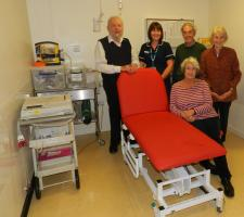 Wheels 2017 funds  a couch for Bodmin Hospital