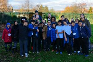 Crocus Planting at Bowling Park Primary School