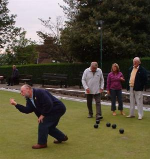 August Bowls evening at Rufford Park
