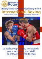 International Boxing and Black Tie Dinner